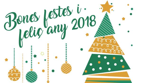 Bon Cap d'Any 2018!