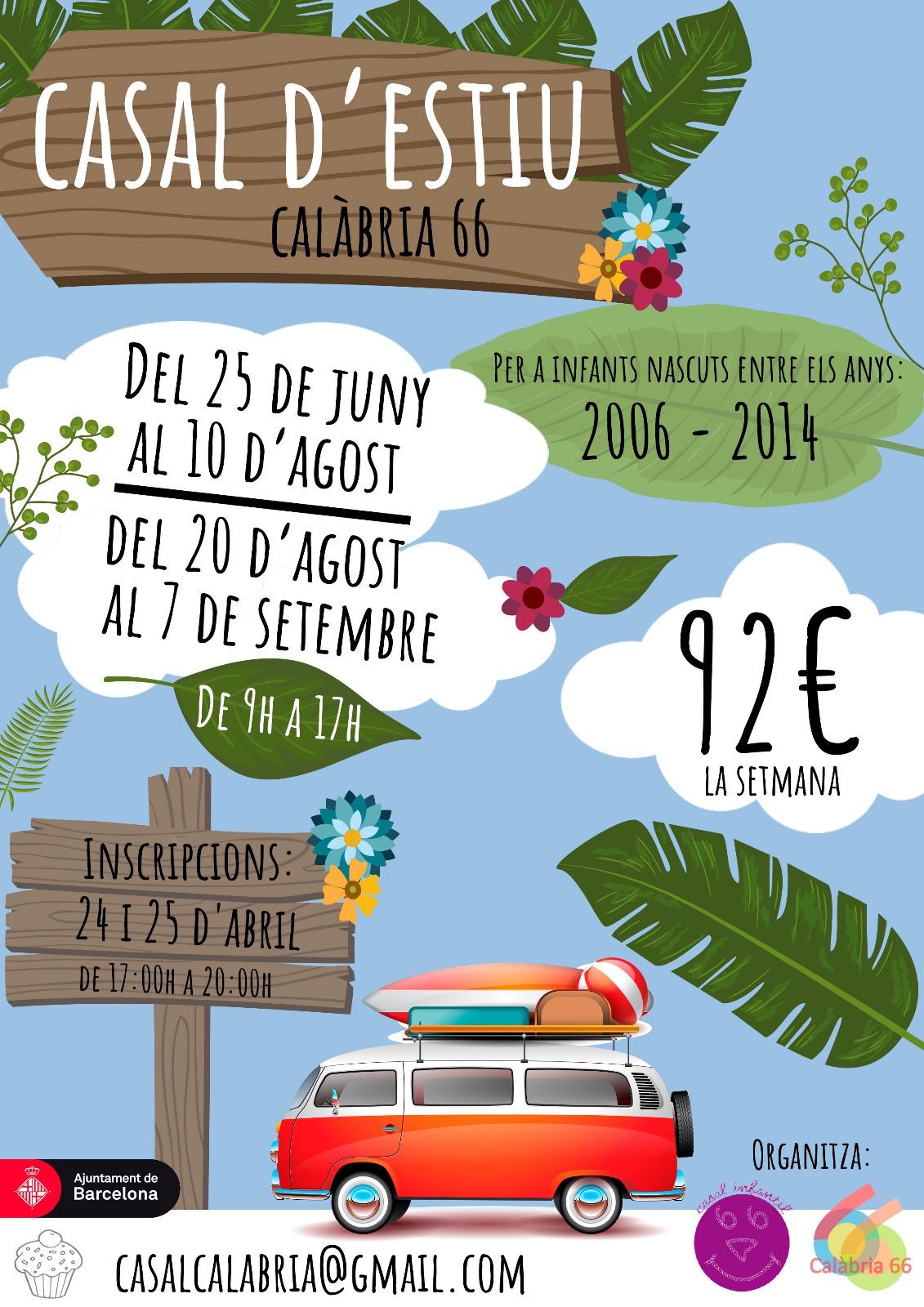 Casal d'Estiu Calàbria66